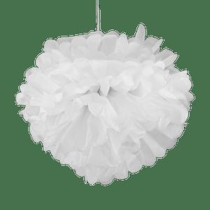 Pompons Blanc 50cm x2