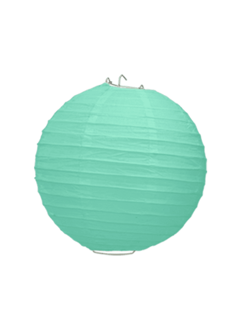 Boule Papier Vert Eau 20 cm x10