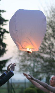 Votre lanterne s'envole!