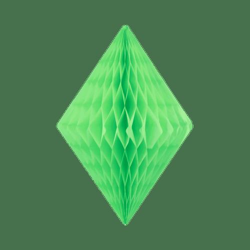 Cristal alvéolé 50 cm Jade