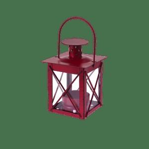 Lanterne avec Poignée Bordeaux 10,5CM