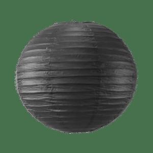 Boule papier 40 cm Noir