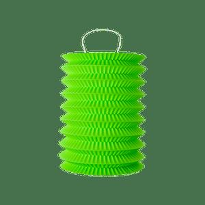 Lampion 15 cm Vert Anis x2