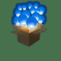 Balloon Bleu Roi x50