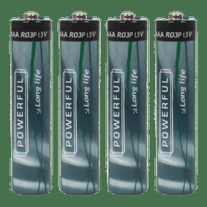 Piles AAA x4