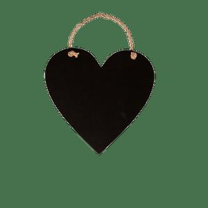 Panneau Coeur en Ardoise