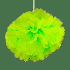 Pompons Vert 50cm x2