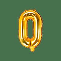 Ballon Lettre O Or 35 cm