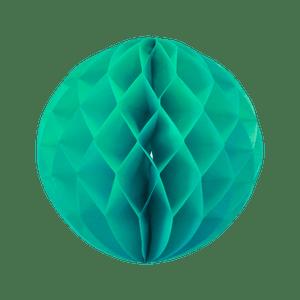 Boule chinoise alvéolée 30 cm Vert d'eau