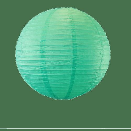 Deco Pour Mariage, Fête, Anniversaire Boule Papier 50Cm Vert D'Eau (Lot De 3 Pièces)