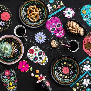 Guirlande Dia de Los Muertos Multicolore 1,20m