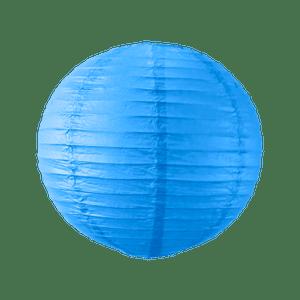 Boule papier 30cm Bleu roi