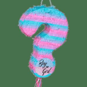 Pinata Boy or Girl Bleu et Rose 50 cm