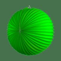 Lampion rond 36 cm Vert