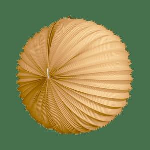 Lampion rond 36cm Sable