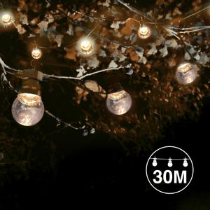 Kit Guirlande Guinguette 30m Transparent