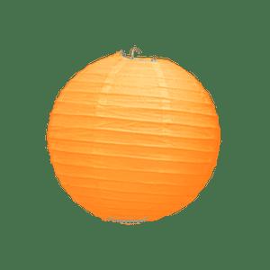 Boule Papier Orange 10 cm x3