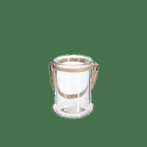 Lanterne Verre Transparent 17 cm