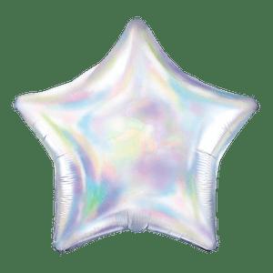 Ballon Étoile Iridescent 48 cm