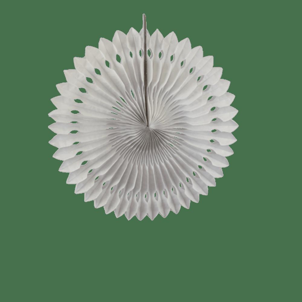 Deco Pour Mariage & Fête Rosace Papier 30 Cm Blanc (Lot De 5 Pièces)