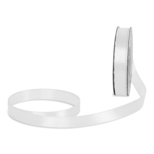 Ruban Satin Blanc 12mm x 25m