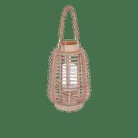 Lanterne Rotin Naturel 33 cm