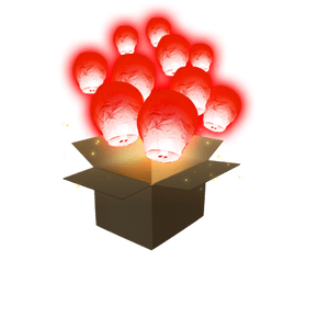 Balloon Rouge x10