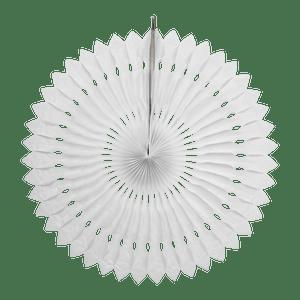 Rosace papier 50 cm Blanc