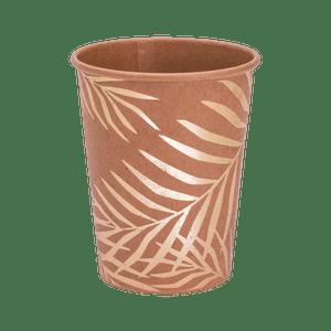 Gobelet carton palmier kraft x8