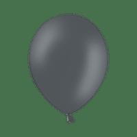 Ballon Latex Biodégradable Gris 28 cm