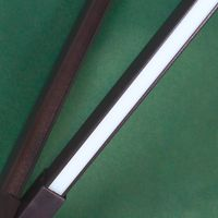 Parasol Lumineux Solaire 2M70 Vert Foncé