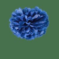 Pompons Bleu Navy 30cm x2