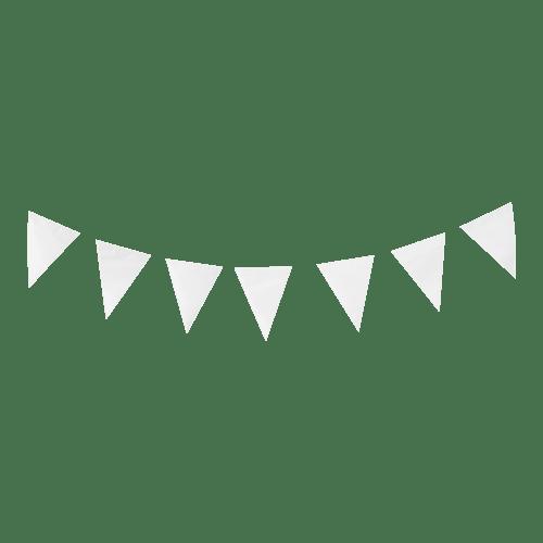 Guirlande papier Blanc