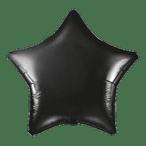 Ballon Étoile Noir 48 cm