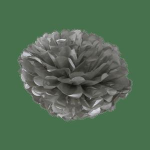 Pompons Argent 30cm x2