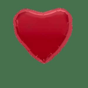 Ballon Coeur Rouge 45 cm