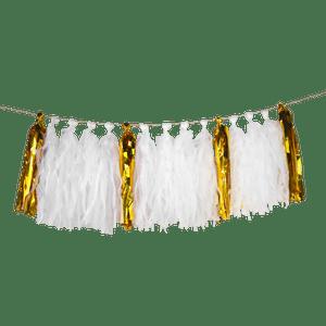 Guirlande Tassel Blanc