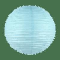 Boule papier 50 cm Bleu Ciel