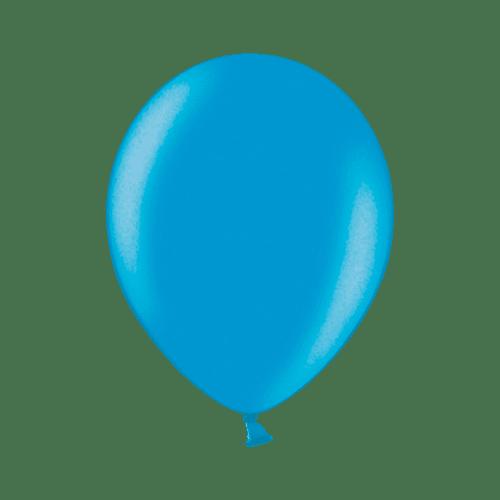 Ballon Latex Biodégradable Turquoise 28 cm