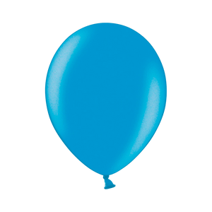 Ballon Latex Biodégradable Turquoise 28 cm