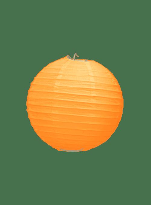 Boule Papier Orange 10 cm x10