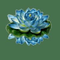 Lanterne Flottante Mariage & Fête Lotus Natural Bleue (Lot De 3 Pièces)