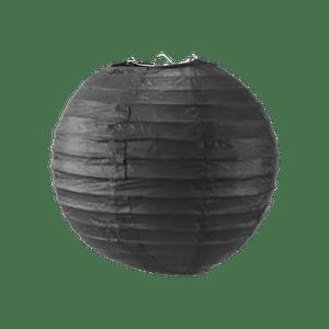 Boule papier 20 cm Noir
