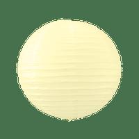 Boule Papier 30cm Ivoire (Nouvelle Collection)