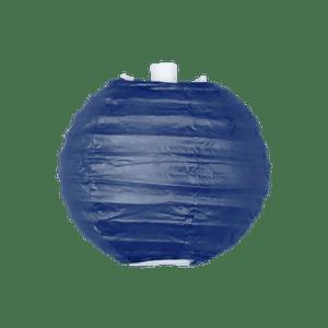 Boule Papier 10cm Bleu Navy