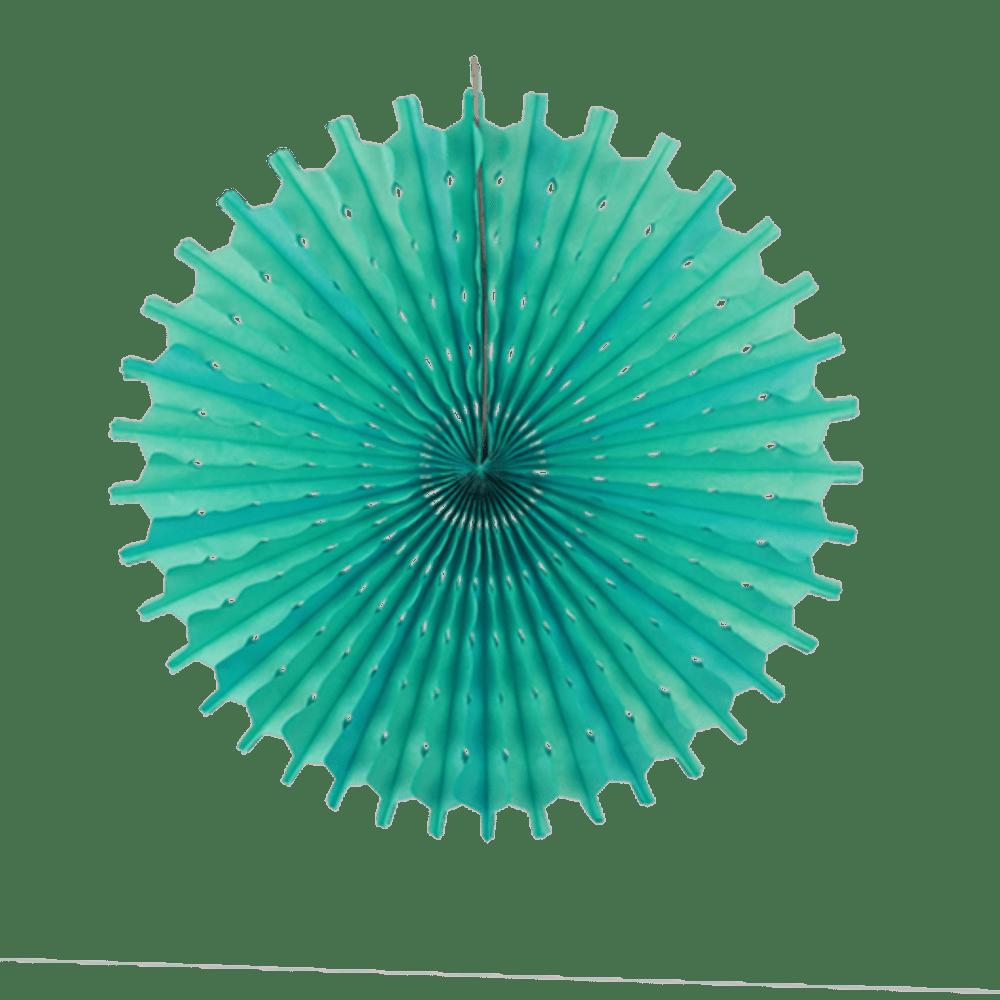 Décoration De Mariage & Fête Rosace Papier 50 Cm Vert D'Eau (Lot De 3 Pièces)