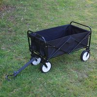 Chariot Pliable Multifonction Noir
