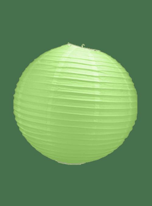 Boule Papier Vert 30 cm x10