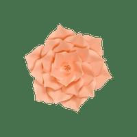 Fleur En Papier Gardénia Pêche 20 cm