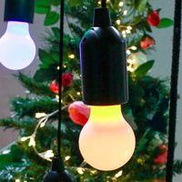 Suspension Ampoule Clic Clac Jaune